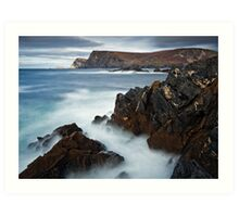 Glen Bay Donegal Art Print