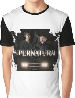 Supernatural 8 Graphic T-Shirt