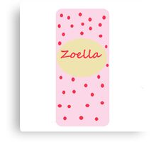 Fizz bar inspired zoella design . - zoella beauty Canvas Print