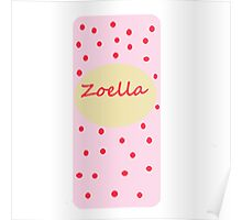 Fizz bar inspired zoella design .  Poster