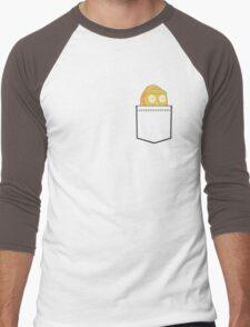 Morty pocket Men's Baseball ¾ T-Shirt