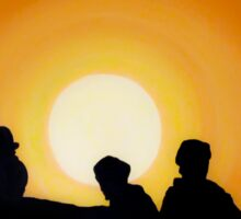 Indiana Jones Sunset Scene Sticker