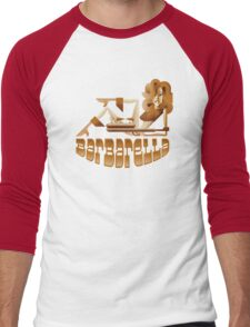 Barbarella (raygun) Men's Baseball ¾ T-Shirt
