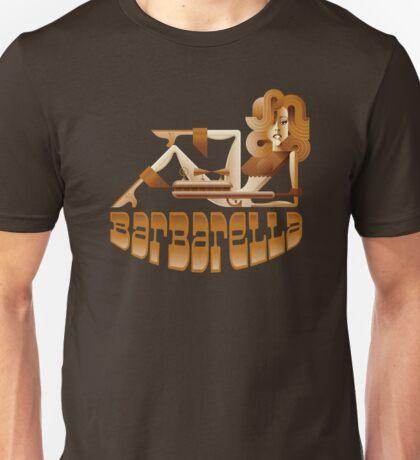 Barbarella (raygun) Unisex T-Shirt