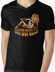 Barbarella (raygun) Mens V-Neck T-Shirt