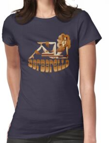 Barbarella (raygun) Womens Fitted T-Shirt