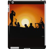 Indiana Jones Sunset Scene iPad Case/Skin