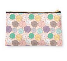 Colorful umbrella pattern. Studio Pouch