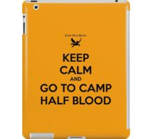 keep calm and go to camp half blood iPad Case/Skin