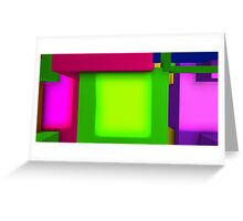 Geometric composition 3 Greeting Card