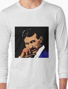 Nikola Tesla-2 Long Sleeve T-Shirt