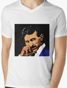 Nikola Tesla-2 Mens V-Neck T-Shirt