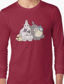 Totoro Pikachu Baymax T-Shirt