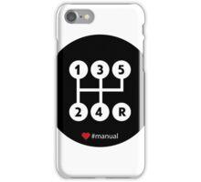Manual Transmission iPhone Case/Skin