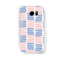 Art brush texture. Trendy colors Samsung Galaxy Case/Skin