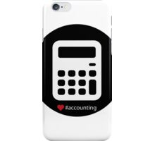 Accounting Big Icon iPhone Case/Skin