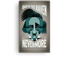 Edgar Allen Poe (The Raven) Canvas Print