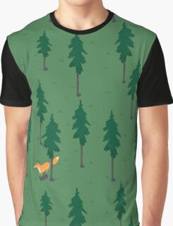 Fox in the woods. Graphic T-Shirt