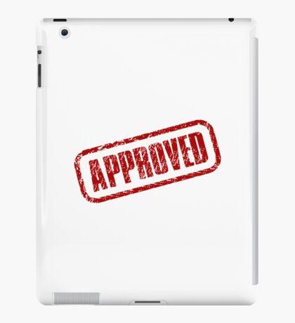 Approve Stamp iPad Case/Skin