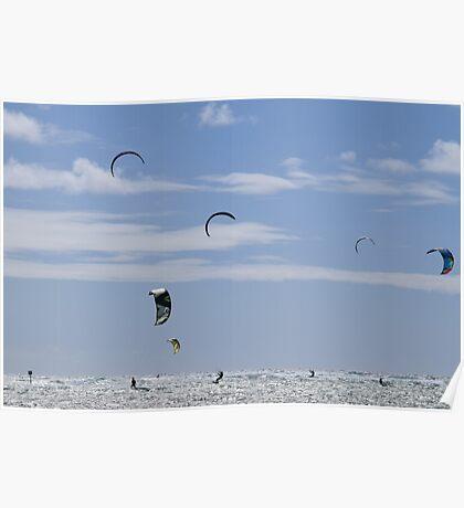 Kite surf Poster