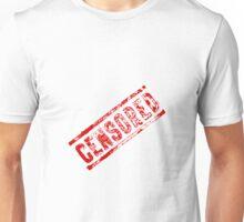 Censored Stamp Unisex T-Shirt