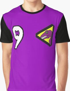 Dino Charge/Kyoryuger Purple/Violet Graphic T-Shirt