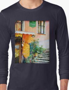 Cinque Terre Pizzeria Long Sleeve T-Shirt