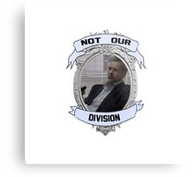 Not Our Division Metal Print