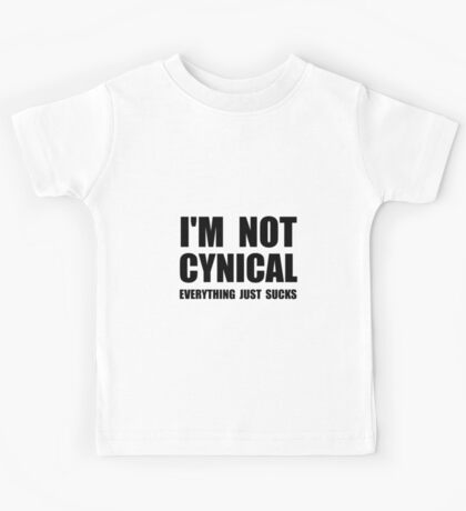 Not Cynical Kids Tee