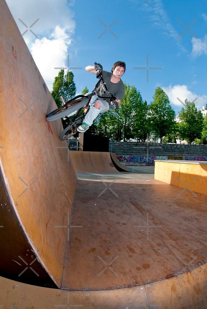 BMX Bike Stunt Wall Ride by homydesign