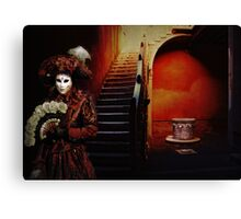 Red Carnival Canvas Print