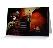 Red Carnival Greeting Card