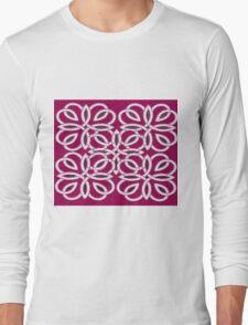 pattern of fashion style  Long Sleeve T-Shirt