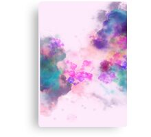 Blush Galaxy Canvas Print