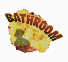 BATHROOM!!! One Piece - Long Sleeve