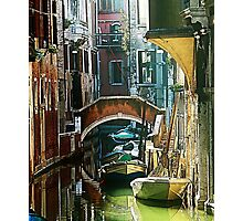 Pictorial Venice - timeless perspective  Photographic Print