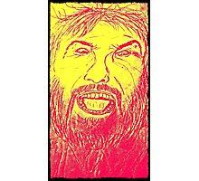 angry man Photographic Print