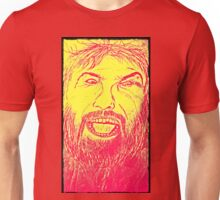 angry man Unisex T-Shirt