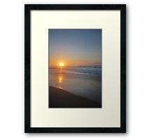 Croajingolong Sunrise Framed Print
