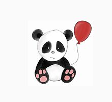 Lonely Panda with red balloon Unisex T-Shirt