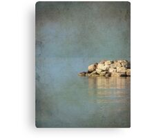 Pile of Stone Canvas Print