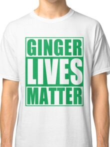 St Patrick's Day Ginger Lives Matter Classic T-Shirt