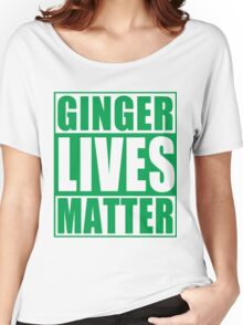 St Patrick's Day Ginger Lives Matter Women's Relaxed Fit T-Shirt