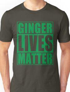 St Patrick's Day Ginger Lives Matter Unisex T-Shirt