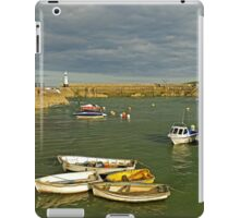 Mevagissey Outer Harbour iPad Case/Skin