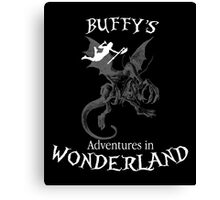 Buffy's  Adventures in Wonderland II Canvas Print