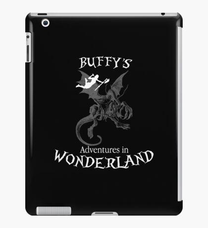 Buffy's  Adventures in Wonderland II iPad Case/Skin