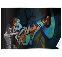 Graffiti Photoshop Poster