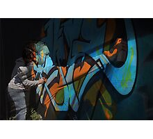Graffiti Photoshop Photographic Print
