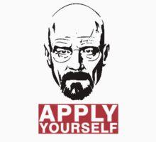 Apply Yourself Break Bad One Piece - Short Sleeve